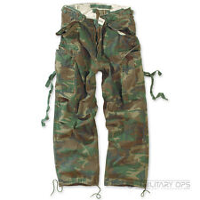 Surplus Raw Vintage Uniforme, Stile Militare Pantaloni Mimetico Bosco