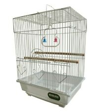 HERITAGE CAGES WARWICK BUDGIE FINCH BIRD CAGE 30x23x39CM BUDGIES CANARY HOME PET