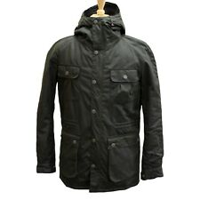 Barbour Mens Brindle Wax Jacket in Fern - Size S
