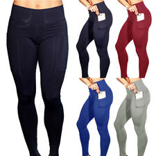 Push Up Mujer Cintura Alta Leggings Ejercicio Nalgas Push Up Deporte Footing
