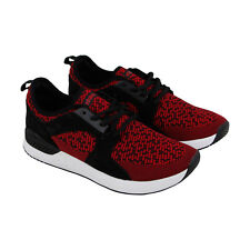 Etnies Cyprus Sc Mens Red Textile Athletic Lace Up Skate Shoes