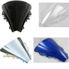 New Windshield Double Bubble For Yamaha YZF-R6 YZFR6 YZF R6 2006-2007 Windscreen