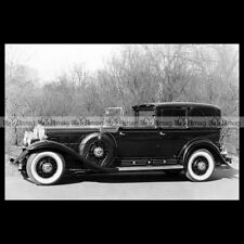#pha.003174 Photo CADILLAC V16 452-A TRANSFORMABLE TOWN CABRIOLET 1930 Car Auto