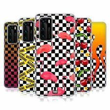 HEAD CASE DESIGNS CHECKERBOARD PATTERNS SOFT GEL CASE FOR HUAWEI PHONES