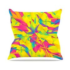 East Urban Home Bubble Gum Explosion by Danny Ivan Throw Pillow