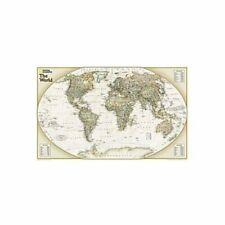 National Geographic Maps World Explorer Executive Wall Map