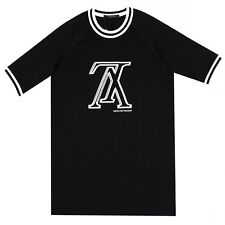 100% Authentic NEW Louis Vuitton Upside Down Tipping LV T Shirt Black