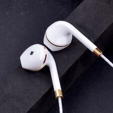 New in-ear earphone for apple iphone 5s 6s 5 xiaomi bass earbud headset Stereo H