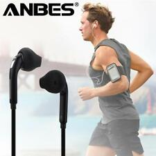 ANBES Sport Headphones with Mic 3.5mm In-Ear Wired Earphone Earbuds Stereo Headp