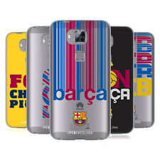 OFFICIAL FC BARCELONA 2017/18 CAMPIONS SOFT GEL CASE FOR HUAWEI PHONES 2