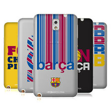 OFFICIAL FC BARCELONA 2017/18 CAMPIONS SOFT GEL CASE FOR SAMSUNG PHONES 2