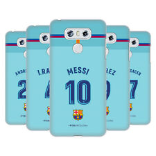 OFFICIAL FC BARCELONA 2017/18 PLAYERS AWAY KIT GROUP 1 BACK CASE FOR LG PHONES 1