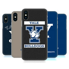 OFFICIAL YALE UNIVERSITY 2018/19 LOGOS HARD BACK CASE FOR APPLE iPHONE PHONES