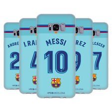 OFFICIAL FC BARCELONA 2017/18 PLAYERS AWAY KIT 1 GEL CASE FOR SAMSUNG PHONES 1
