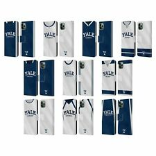 YALE UNIVERSITY 2017/18 JERSEYS LEATHER BOOK WALLET CASE FOR APPLE iPHONE PHONES