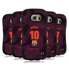 OFFICIAL FC BARCELONA 2017/18 PLAYERS THIRD KIT 1 HYBRID CASE FOR SAMSUNG PHONES