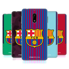 OFFICIAL FC BARCELONA 2017/18 CREST KIT SOFT GEL CASE FOR NOKIA PHONES 1