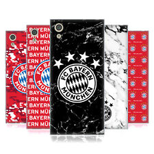 OFFICIAL FC BAYERN MUNICH 2017/18 PATTERNS SOFT GEL CASE FOR SONY PHONES 1