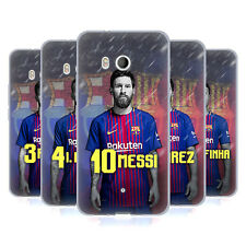 OFFICIAL FC BARCELONA 2017/18 FIRST TEAM GROUP 1 SOFT GEL CASE FOR HTC PHONES 1
