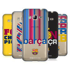 OFFICIAL FC BARCELONA 2017/18 CAMPIONS SOFT GEL CASE FOR SAMSUNG PHONES 3