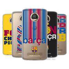 OFFICIAL FC BARCELONA 2017/18 CAMPIONS SOFT GEL CASE FOR MOTOROLA PHONES