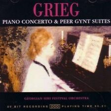 Edvard Grieg  - Piano Concerto And Peer Gynt Suites - Cd