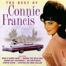 Connie Francis  - The Best Of Connie Francis - Cd