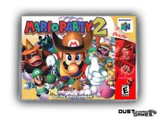 Mario Party 2 N64 Nintendo 64 Game Case Box Cover Brand New Professional Quality