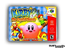Kirby 64: The Crystal Shards N64 Nintendo 64 Game Case Box Cover Brand New Pro!!