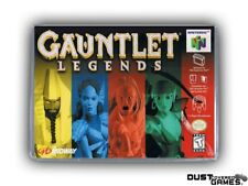 Gauntlet Legends N64 Nintendo 64 Game Case Box Cover Brand New Pro Quality!!!