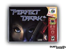 Perfect Dark N64 Nintendo 64 Game Case Box Cover Brand New Professional Quality!