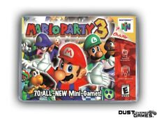 Mario Party 3 N64 Nintendo 64 Game Case Box Cover Brand New Professional Quality