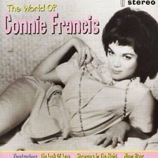 Connie Francis  - The World Of Connie Francis - Cd