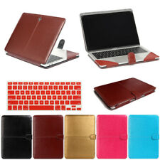 "Hard PU Leather Case Cover for MacBook Air Pro 11"" 13"" 15"" 12 Retina A1502 A1534"