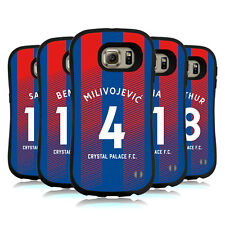 CRYSTAL PALACE FC 2018/19 PLAYERS HOME KIT 1 HYBRID CASE FOR SAMSUNG PHONES