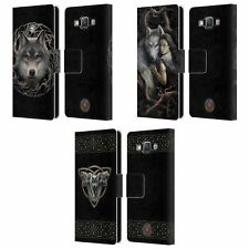 OFFICIAL ANNE STOKES WOLVES 2 LEATHER BOOK WALLET CASE FOR SAMSUNG PHONES 2