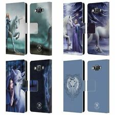 OFFICIAL ANNE STOKES UNICORNS 2 LEATHER BOOK WALLET CASE FOR SAMSUNG PHONES 2