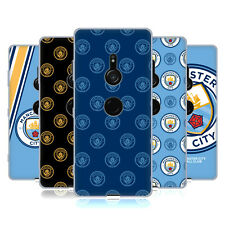 OFFICIAL MANCHESTER CITY MAN CITY FC 2017/18 BADGE GEL CASE FOR SONY PHONES 1