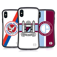 CRYSTAL PALACE FC 2016/17 RETRO BADGE HYBRID CASE FOR APPLE iPHONES PHONES