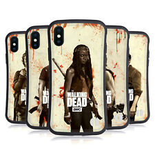 OFFICIAL AMC THE WALKING DEAD DISTRESSED HYBRID CASE FOR APPLE iPHONES PHONES