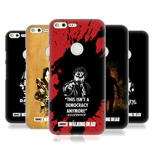 OFFICIAL AMC THE WALKING DEAD TYPOGRAPHY HARD BACK CASE FOR GOOGLE PHONES