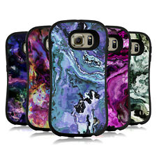 OFFICIAL HAROULITA MARBLE 2 HYBRID CASE FOR SAMSUNG PHONES
