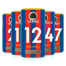 OFFICIAL CRYSTAL PALACE FC 2017/18 PLAYERS HOME KIT 2 CASE FOR MOTOROLA PHONES 1