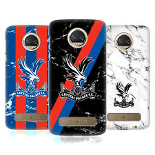 OFFICIAL CRYSTAL PALACE FC 2017/18 MARBLE HARD BACK CASE FOR MOTOROLA PHONES 1