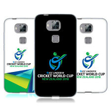 OFFICIAL ICC UNDER19 WORLD CUP 2018 CRICKET SOFT GEL CASE FOR HUAWEI PHONES 2