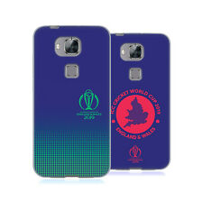 OFFICIAL ICC TYPOGRAPHY CRICKET WORLD CUP SOFT GEL CASE FOR HUAWEI PHONES 2