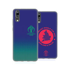 OFFICIAL ICC TYPOGRAPHY CRICKET WORLD CUP SOFT GEL CASE FOR HUAWEI PHONES