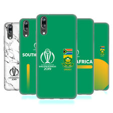 OFFICIAL ICC SOUTH AFRICA CRICKET WORLD CUP SOFT GEL CASE FOR HUAWEI PHONES