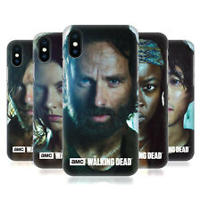 OFFICIAL AMC THE WALKING DEAD CHARACTERS HARD BACK CASE FOR APPLE iPHONE PHONES