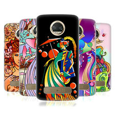 OFFICIAL HOWIE GREEN LADIES ABSTRACT HARD BACK CASE FOR MOTOROLA PHONES 1